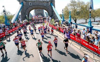 I learned about leading from – the London Marathon
